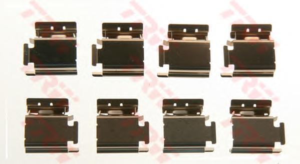 Комплект монтажный TRW, для тормозных колодок. PFK413PFK413