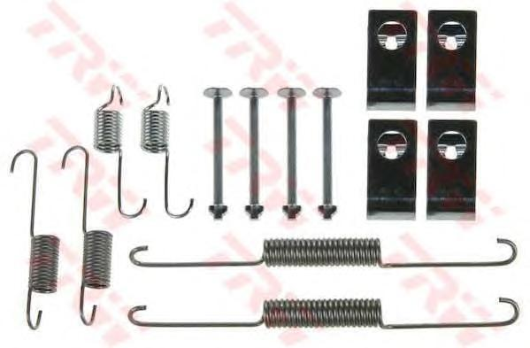 Комплект монтажный TRW, для тормозных колодок. SFK316SFK316