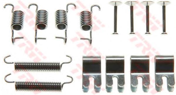 Комплект монтажный TRW, для тормозных колодок. SFK385SFK385