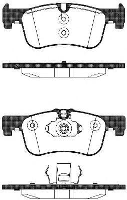 Колодки тормозные дисковые Remsa, комплект. 147810147810
