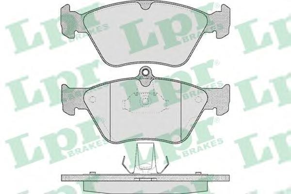 Колодки тормозные дисковые LPR / AP. 05P46505P465