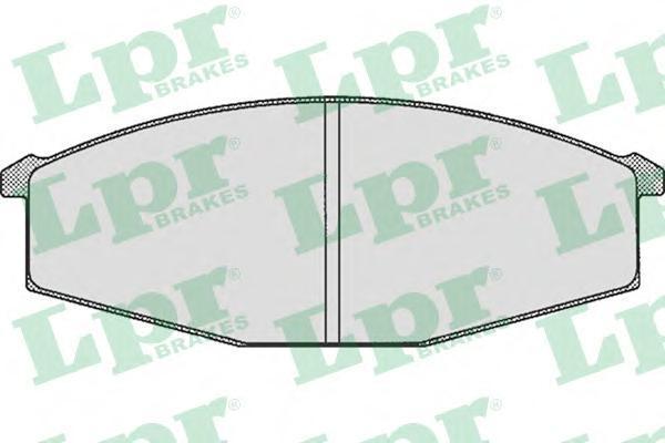 Колодки тормозные дисковые LPR / AP. 05P28905P289