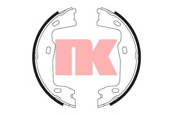Колодки тормозные дисковые NK. 27363472736347
