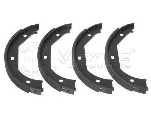 Колодки тормозные дисковые Meyle. 31404200073140420007