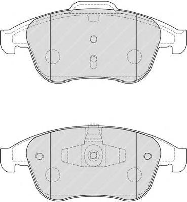 Колодки тормозные дисковые Ferodo Premier. FDB4181FDB4181