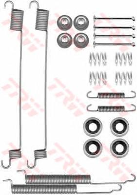 Комплект монтажный TRW, для тормозных колодок. SFK275SFK275
