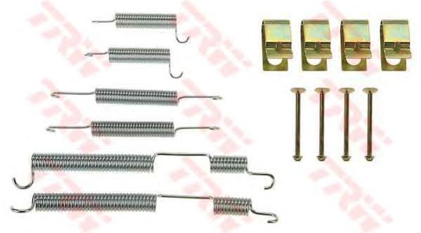 Комплект монтажный TRW, для тормозных колодок. SFK379SFK379