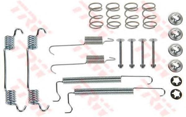 Комплект монтажный TRW, для тормозных колодок. SFK224SFK224