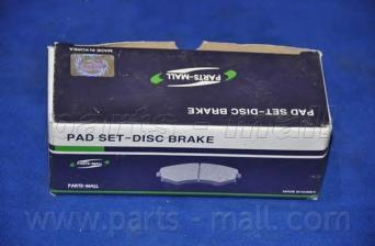 Колодки тормозные дисковые PMC, передние. PKD001PKD001