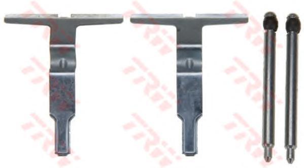 Комплект монтажный TRW, для тормозных колодок. PFK506PFK506