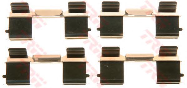 Комплект монтажный TRW, для тормозных колодок. PFK572PFK572