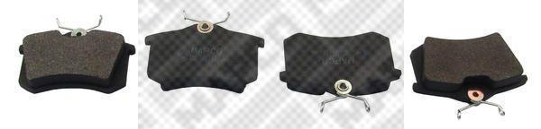 Колодки тормозные дисковые Mapco, комплект. 64926492