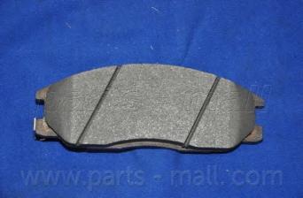 Колодки тормозные дисковые PMC, передние. PKA023PKA023