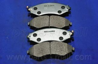 Колодки тормозные дисковые PMC, передние. PKC008PKC008