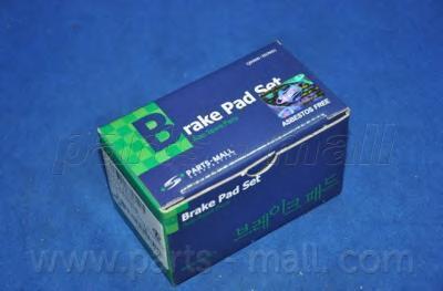 Колодки тормозные дисковые PMC, передние, тип Н. PKC002PKC002