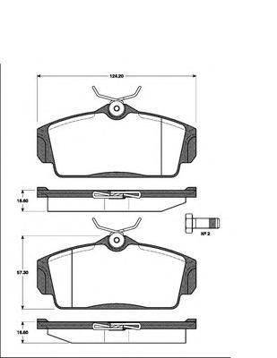 Колодки тормозные дисковые Kashiyama, передние. D1230D1230