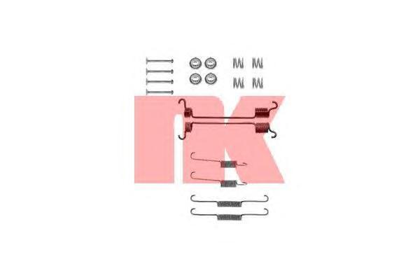 Комплект монтажный NK, для тормозных колодок. 79227417922741