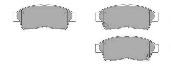 Колодки тормозные дисковые Fremax, комплект. FBP-1595FBP-1595