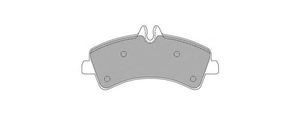 Колодки тормозные дисковые Fremax, комплект. FBP-1640FBP-1640