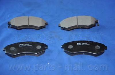 Колодки тормозные дисковые PMC, передние. PKA002PKA002