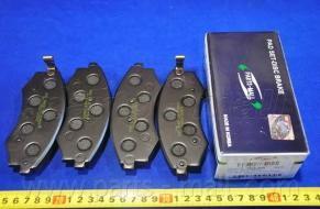 Колодки тормозные дисковые PMC, передние. PKA003PKA003