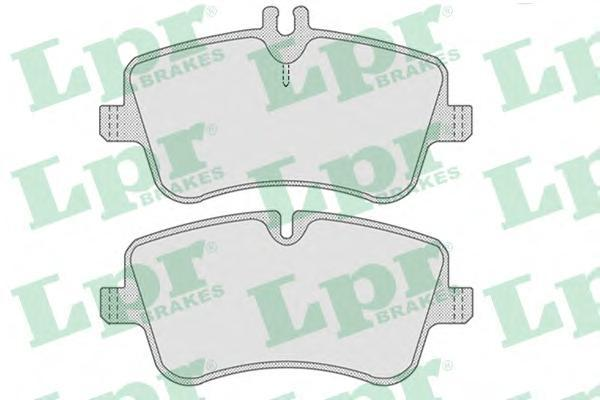 Колодки тормозные дисковые LPR / AP. 05P76705P767