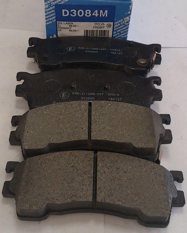 Колодки тормозные дисковые Kashiyama, передние. D3084MD3084M