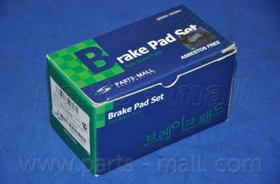 Колодки тормозные дисковые PMC, передние. PKA034PKA034