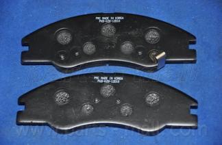 Колодки тормозные дисковые PMC, передние. PKB028PKB028