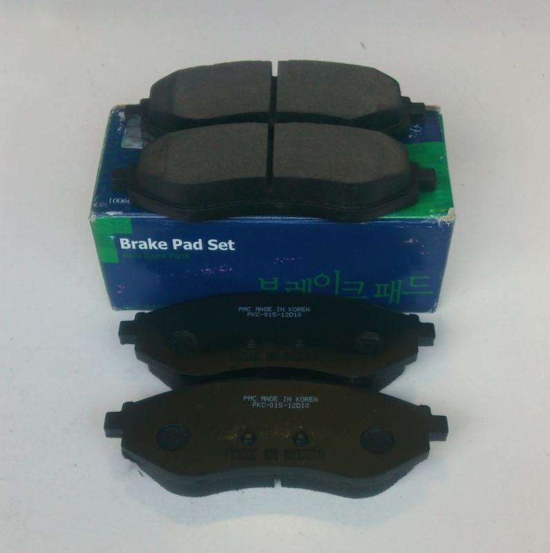Колодки тормозные дисковые PMC, передние. PKC015PKC015
