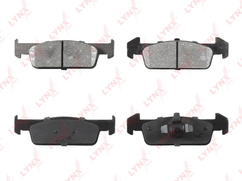 Колодки тормозные дисковые Lynx, передние. BD-6323BD-6323