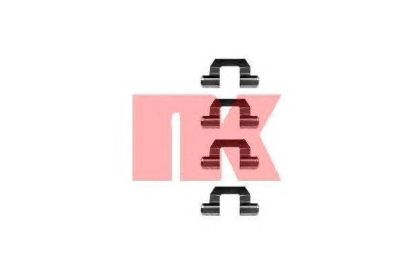Комплект монтажный NK, для тормозных колодок. 79300777930077