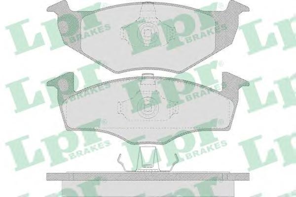Колодки тормозные дисковые LPR / AP. 05P63805P638