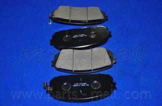 Колодки тормозные дисковые PMC, передние. PKB031PKB031