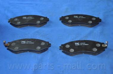 Колодки тормозные дисковые PMC, передние. PKC013PKC013