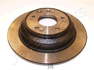 Диск тормозной Japanparts, задний, 2 шт. DP-416DP-416