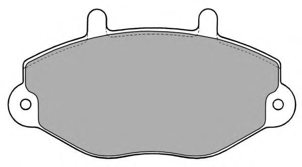 Колодки тормозные дисковые Fremax, комплект. FBP-0771FBP-0771