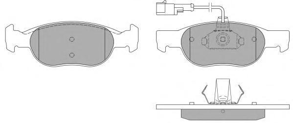 Колодки тормозные дисковые Fremax, комплект. FBP-0969FBP-0969