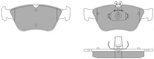 Колодки тормозные дисковые Fremax, комплект. FBP-1040FBP-1040