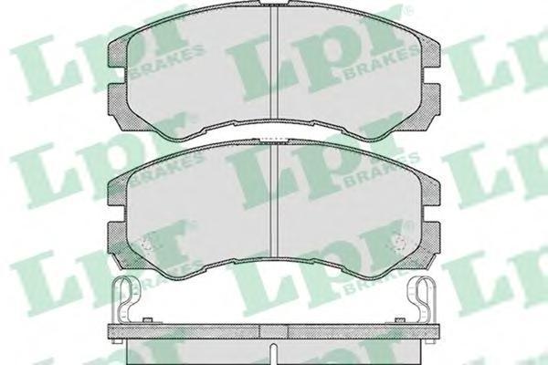 Колодки тормозные дисковые LPR / AP. 05P05P