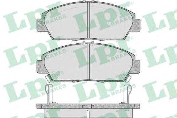 Колодки тормозные дисковые LPR / AP. 05P56705P567