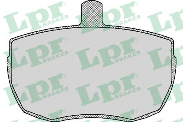 Колодки тормозные дисковые LPR / AP. 05P14005P140