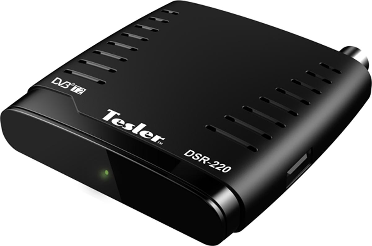 Tesler DSR-220, Black ТВ ресивер 4627130190799