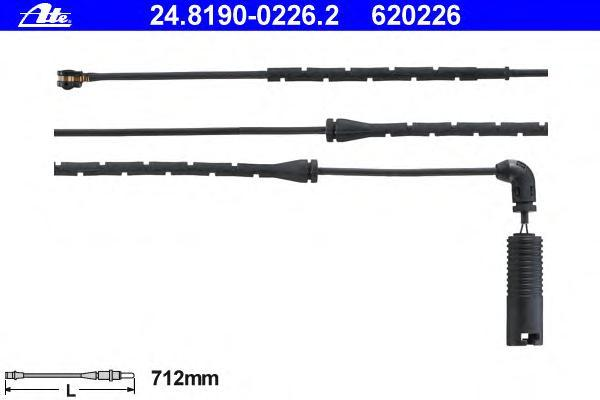 Датчик износа тормозных колодок Ate. 24.8190-0226.224.8190-0226.2