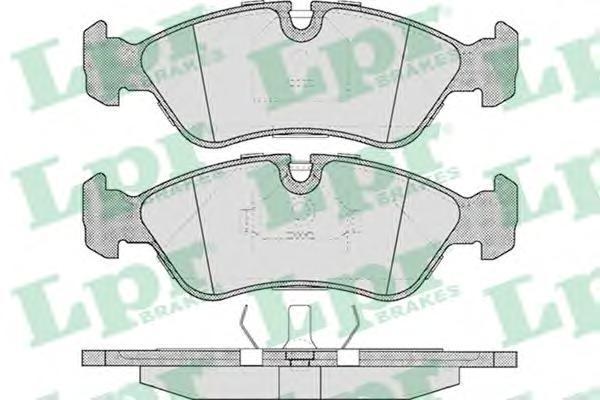 Колодки тормозные дисковые LPR / AP. 05P30405P304