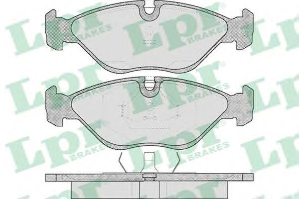 Колодки тормозные дисковые LPR / AP. 05P31005P310