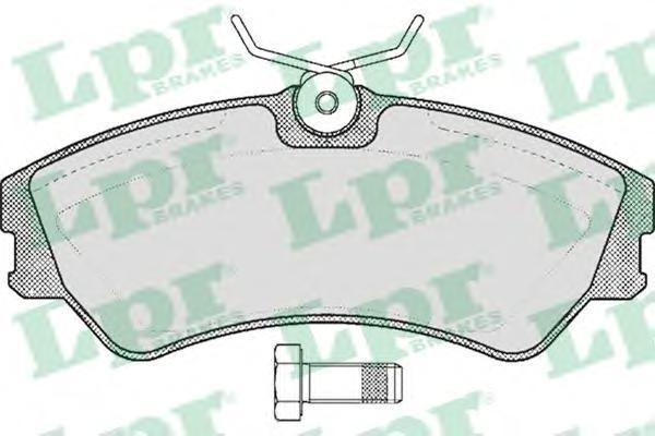 Колодки тормозные дисковые LPR / AP. 05P43905P439
