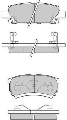 Колодки тормозные дисковые Fremax, комплект. FBP-1670FBP-1670