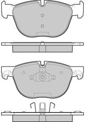 Колодки тормозные дисковые Fremax, комплект. FBP-1666FBP-1666