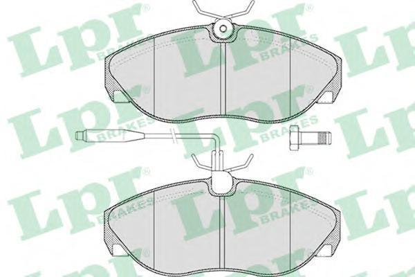 Колодки тормозные дисковые LPR / AP. 05P49305P493